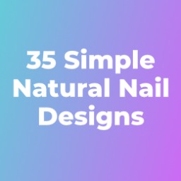 Simple Natural Nail Designs