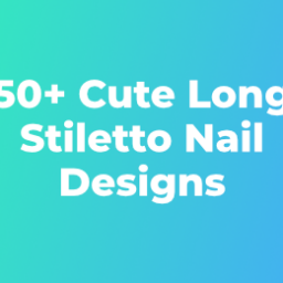 +Cute Long Stiletto Nail Designs