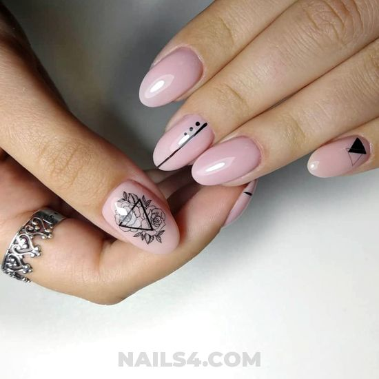Adorable and orderly gel manicure style - diy, nice, nailidea, nail