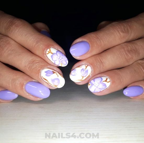Adorable and perfect parisian nail art ideas - nail, nailartdesign, shiny, handsome
