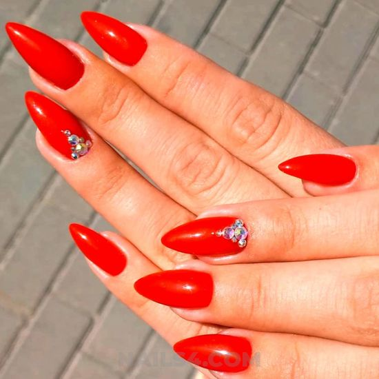 Attractive and graceful manicure design - nice, nailart, best, ideas