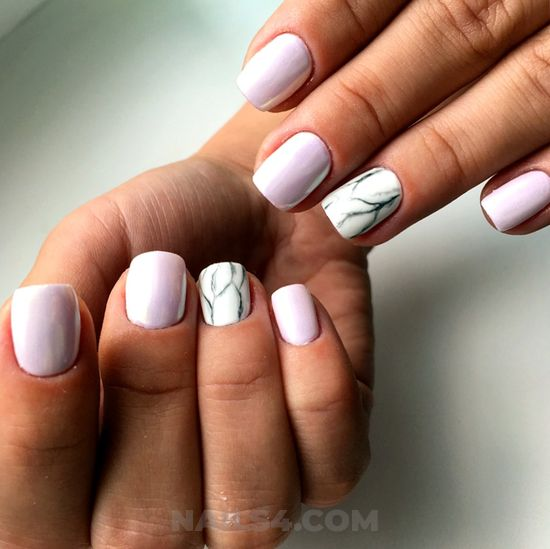 Attractive and incredibly parisian acrylic nail design ideas - nail, plush, goingout, classic