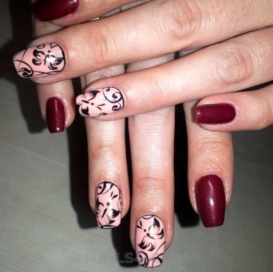 Awesome inspirational gel manicure art - cute, nailart, naildesign, lovely