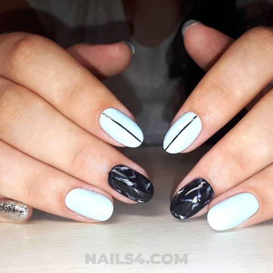 Awesome & simple acrylic manicure - acrylic, naildesigns, nail, diy