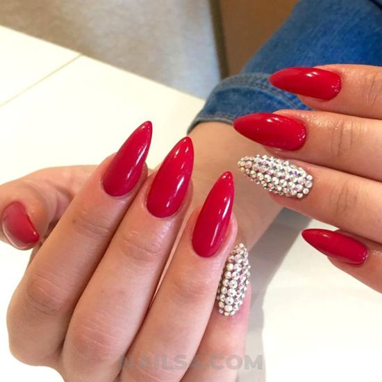 Balanced glamour acrylic nails trend - star, neat, nail, cool, fashionable