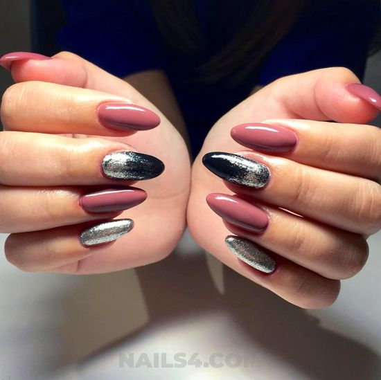 Balanced & incredibly gel manicure art - nail, best, sweet, glamour
