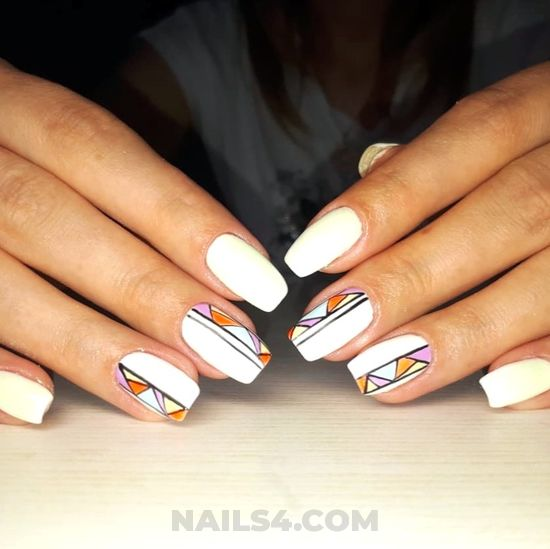 Balanced & lovely acrylic nails ideas - simple, nails, nailstyle, photoshoot