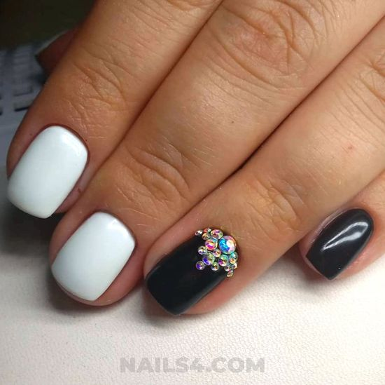 Balanced sexy gel nails design ideas - glamour, inspiration, clever, nails