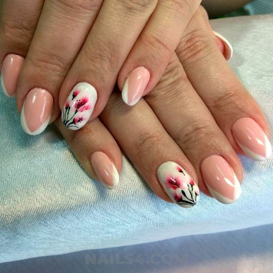 Beautiful and inspirational nails design - gel, graceful, nails, nailstyle, top