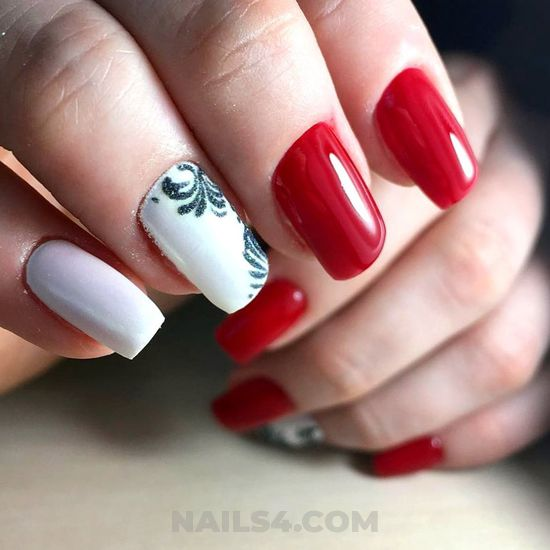 Beautiful and lovable american acrylic nails style - fashionable, manicure, nailart, nice