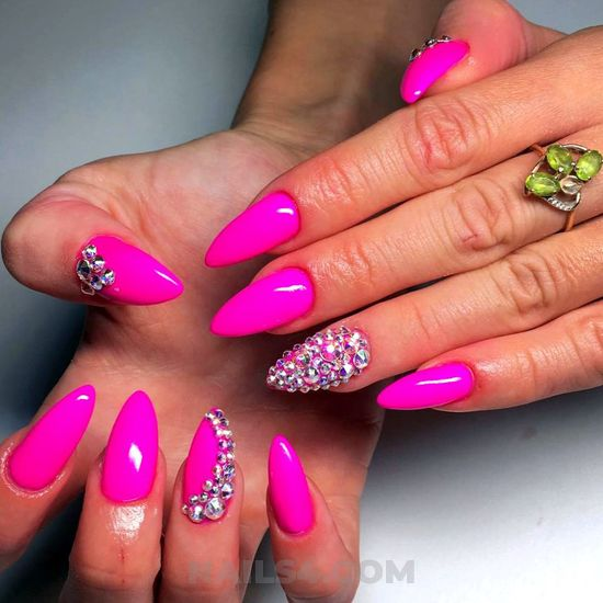 Beautiful neat american acrylic nails trend - loveable, hilarious, nails, star