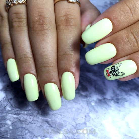 Birthday and wonderful american gel manicure ideas - nails, cutie, artful, trendy, fashion