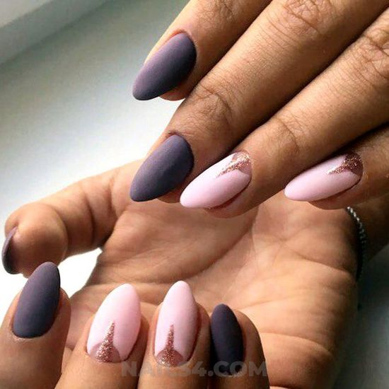 Casual and perfect nails idea - nailart, gelnails, creative, simple