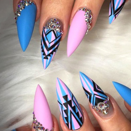 Casual nail design - neat, nailartdesigns, nails, dainty