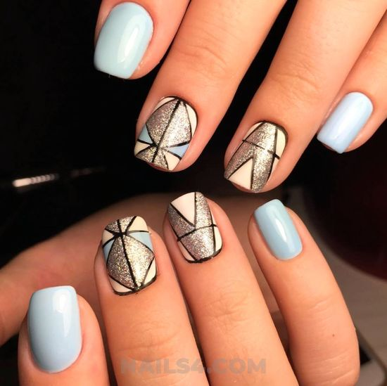 Ceremonial and stately parisian art design - love, nail, getnails, beautytips