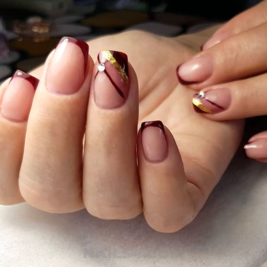 Ceremonial & sexy gel nails art - nailidea, nailart, neat, beautyhacks