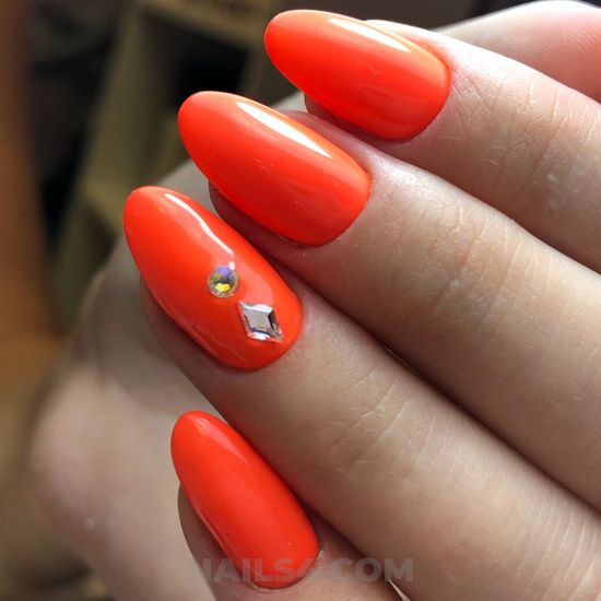Charming and top manicure - lovely, nail, attractive