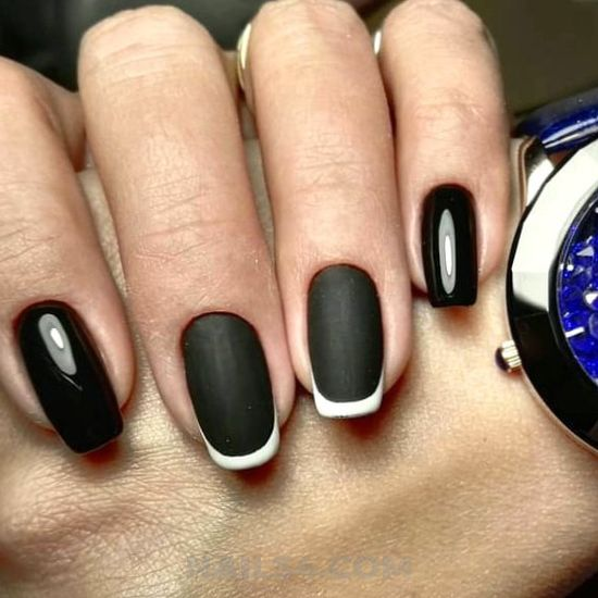 Charming & lovely nail ideas - idea, nails, nailidea, smart