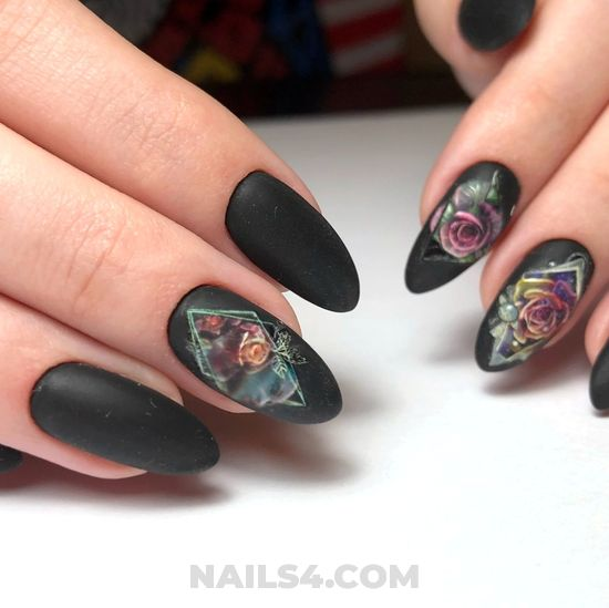 Chic and iconic acrylic nail art - sexy, delightful, nails, handsome