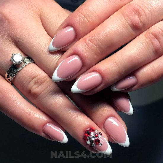 Chic & orderly - elegant, selfnail, star, nails