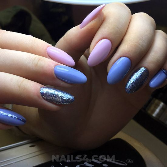 Chic & stately nail idea - goingout, nails, handsome, cool
