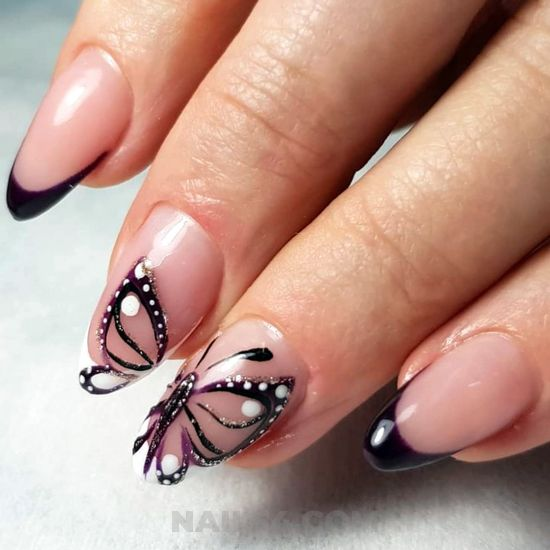 Classy and orderly gel nail ideas - cute, party, nailart, nailideas, neat