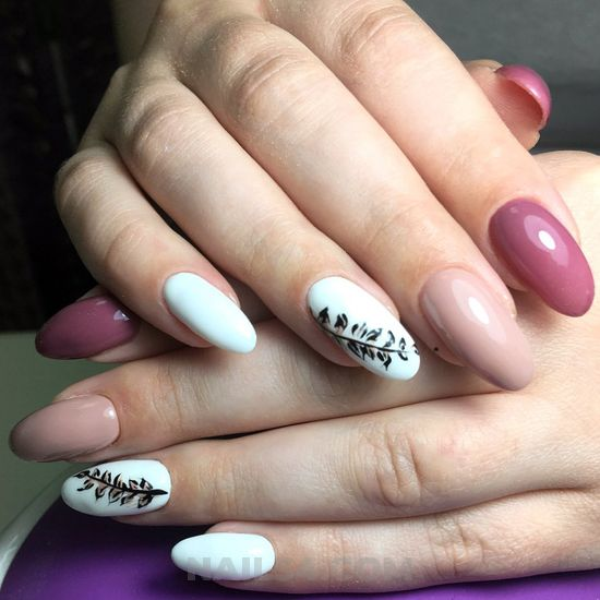 Classy and stately nails art design - gelnails, glamour, diynailart, nail