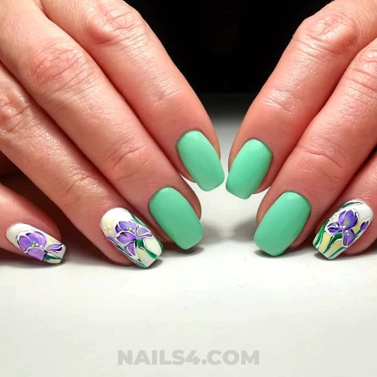 Classy incredibly acrylic manicure - precious, nail, naildesigns, gel