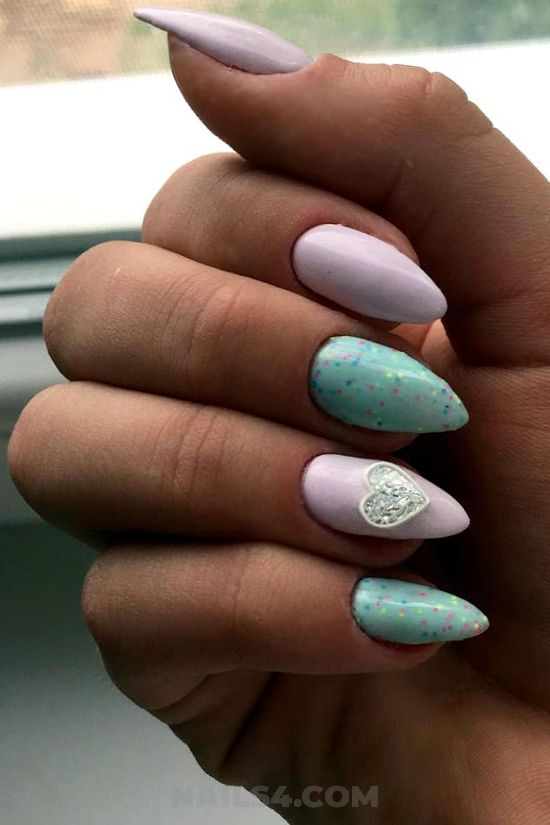 Classy & neat gel nail art - best, nailartdesign, nail, sexy, idea
