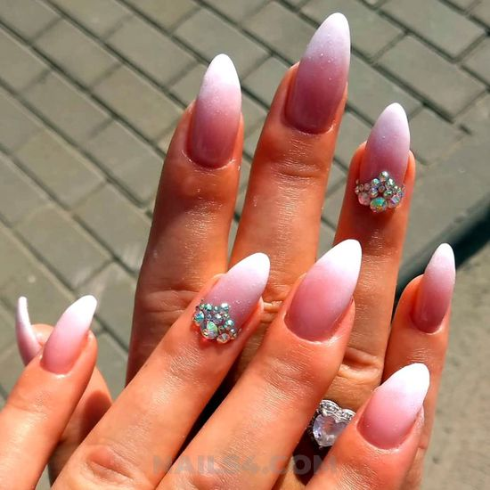 Colorful and lovely acrylic nail - neat, nailstyle, nails, delightful