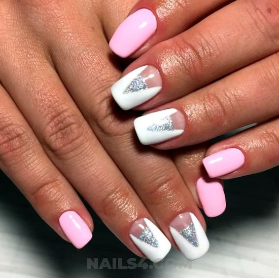 Colorful & stately nails trend - classic, nice, nailartdesigns, nail