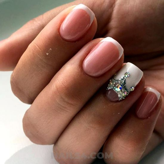 Cool and trendy acrylic manicure design ideas - dainty, nailstyle, nails, design