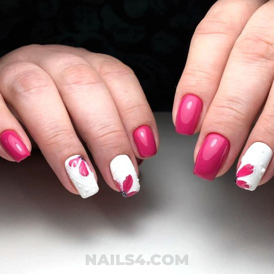 Creative and wonderful acrylic nail art - enchanting, neat, manicure, nail