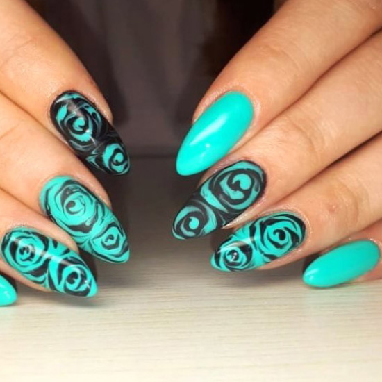 Dainty lovely nail design ideas - top, style, graceful, nailidea, nails