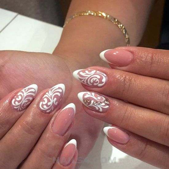 Delightful and hot gel manicure art - nails, nailidea, beauty