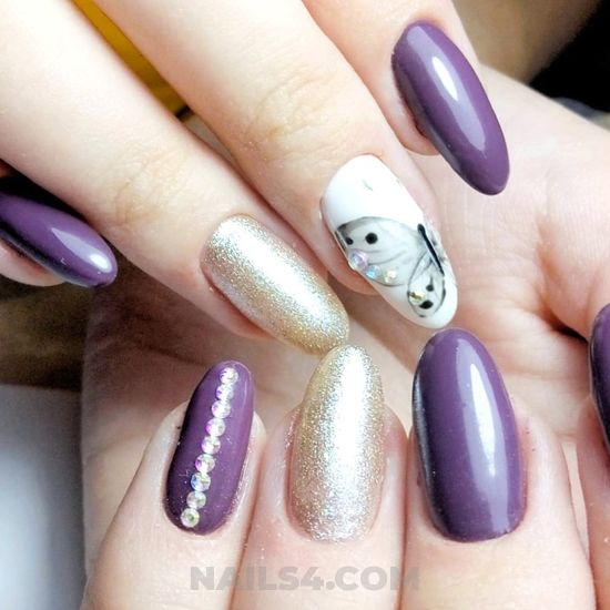 Delightful neat american gel nails art ideas - extremelycute, clever, naildiy, nail