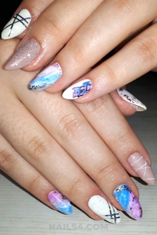 Dream & iconic parisian gel manicure - gelnails, best, diynailart, nails