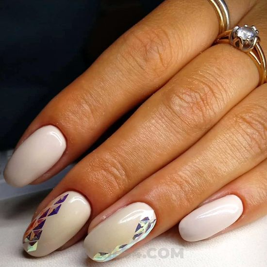 Dreamy and gorgeous gel nails design - nail, nailstyle, neat, weekend, best