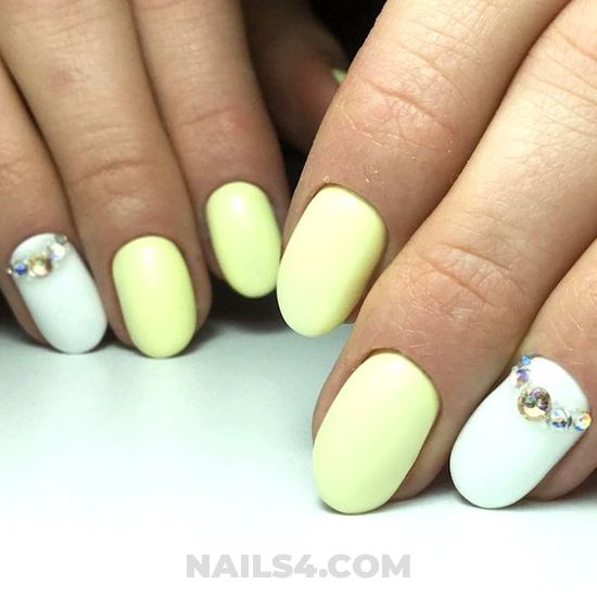 Dreamy and inspirational gel manicure art design - precious, cool, nailart, manicure