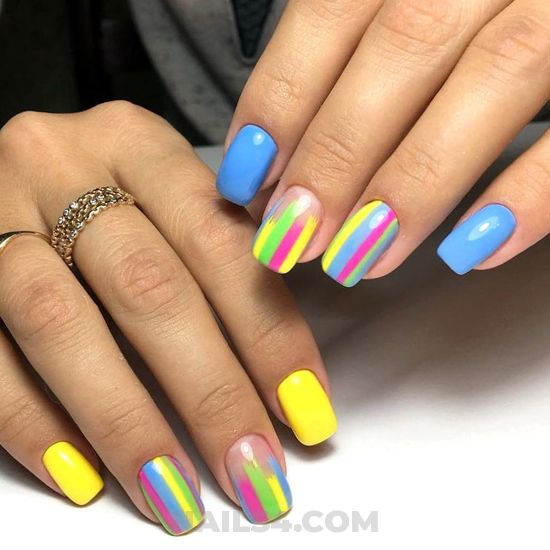 Dreamy & lovable nails art - idea, nailartideas, nail, diy