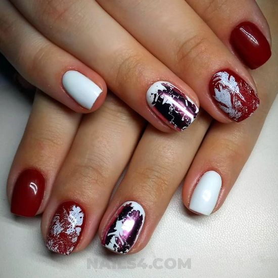 Easy and charming manicure art - nails, nailidea, shiny, delightful