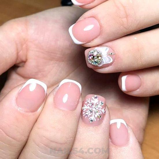 Easy and enchanting manicure idea - goingout, nailart, naildesign, cool