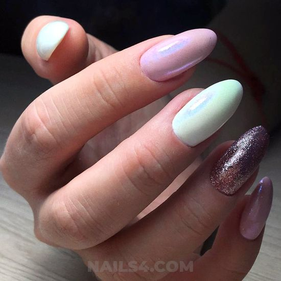 Easy awesome american nails trend - nailtech, getnails, nail, naildesign