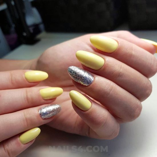 Elegant & glamour nail ideas - nail, naildesigns, handsome, love