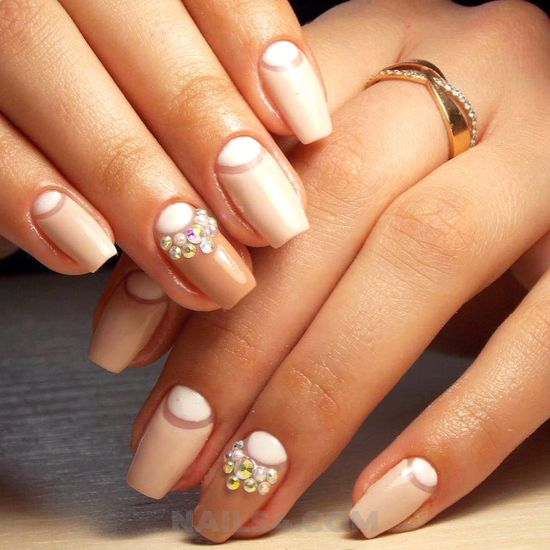 Elegant gorgeous nail style - nail, beautytutorial, fashion, star