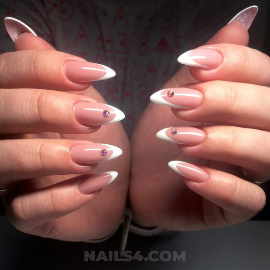 Elegant & handy american gel nails style - nails, naildesign, furnished, diy