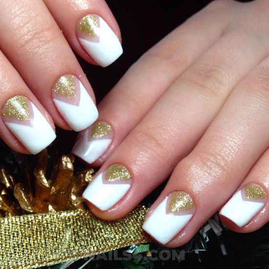 Fantastic gel nail design ideas - cutie, simple, naildesign, nail