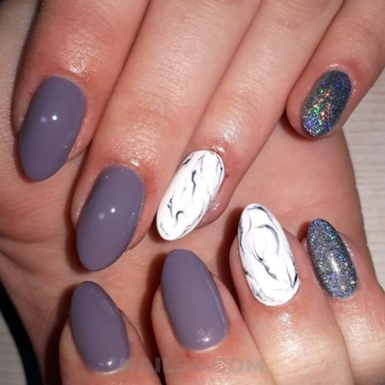 Fantastic & perfect gel nail design ideas - nails, nailartideas, dreamy, beauty