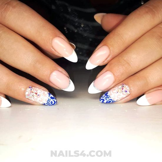 Fashion & lovable acrylic manicure art ideas - nails, inspirationidea, vacation
