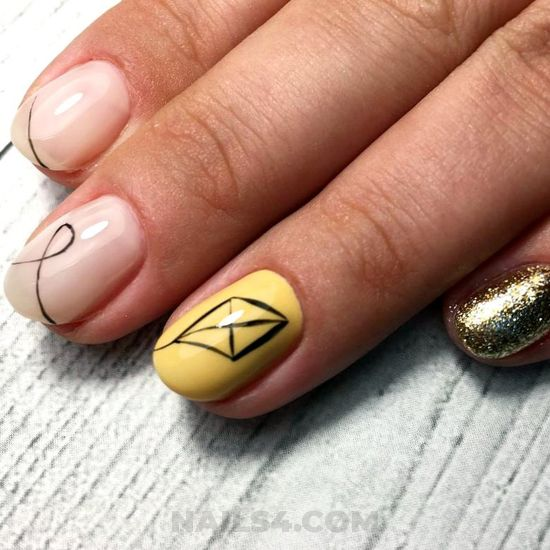 Fashionable & simple acrylic nails - ideas, nails, classic, gotnails